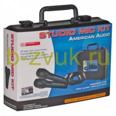 AMERICAN AUDIO STUDIO MIC KIT 2