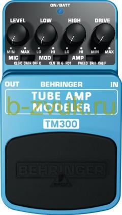 BEHRINGER TM 300 TUBE AMP MODELER