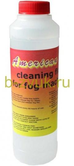 AMERICAN DJ CLEANING FLUID 250ML FOR FOG MACHINES