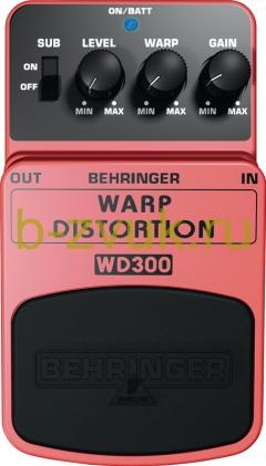 BEHRINGER WD 300 WARP DISTORTION